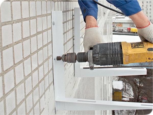 Установка кронштейнов для кондиционеров установка кондиционеры костанай